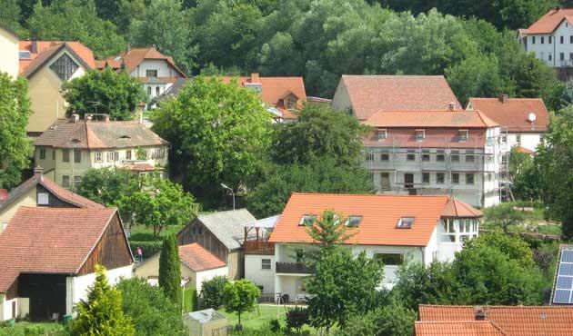 Sanierungsarbeiten am Gemeindehaus Hassenbach