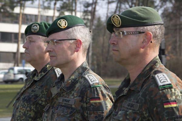 Infanterieschule Hammelburg: Erster Rückblick und Ausblick des Jahres 2012