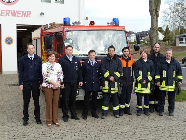 """Geldersheim: Vier Feuerwehrmänner absolvieren """"Feuerwehrführerschein"""""""