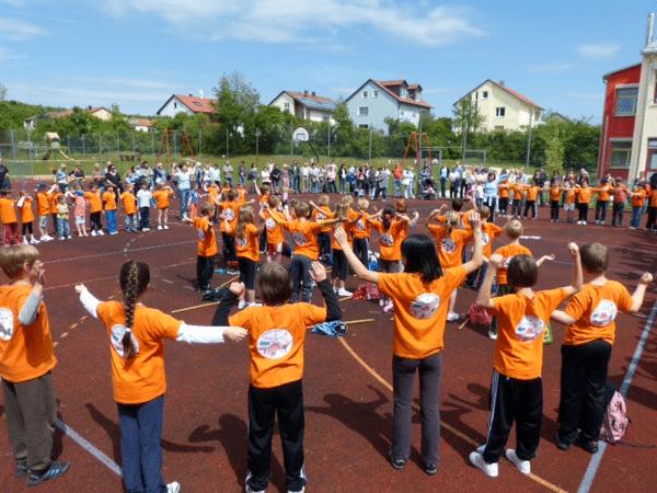 Olympische Spiele an der Grundschule Geldersheim