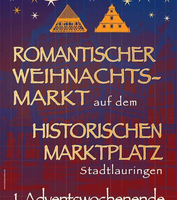 25. Romantischer Weihnachtsmarkt in Stadtlauringen