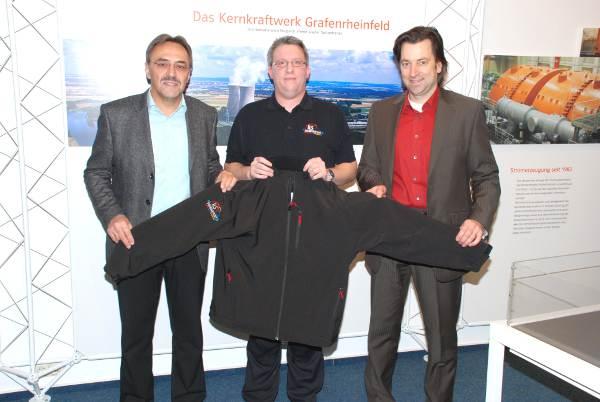 KKG sponsert Softshelljacken für die ILS-Schweinfurt