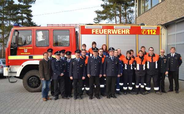 Truppmannlehrgang 2013 der FFW Stadtlauringen
