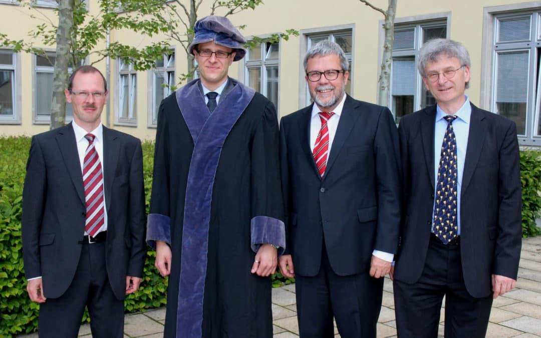 Schweinfurter Master der Elektro- und Informationstechnik wurde zum Dr.-Ing. promoviert