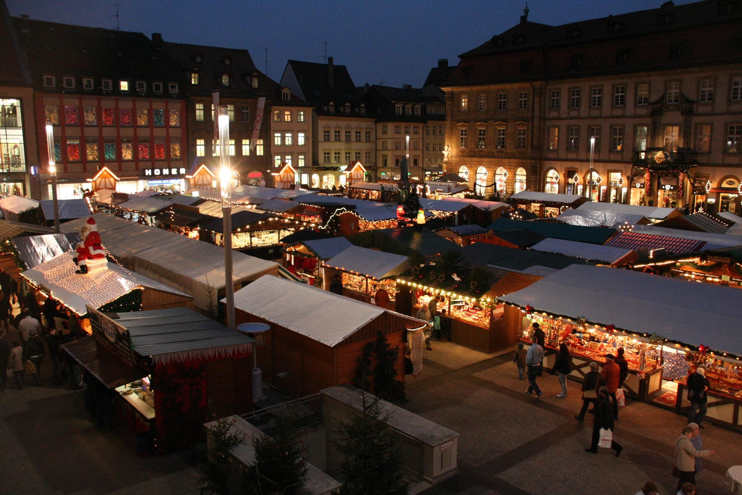 Bamberg Weihnachtsmarkt.Bamberg Lädt Zur Einkaufsnacht Am 07 Dezember Ein