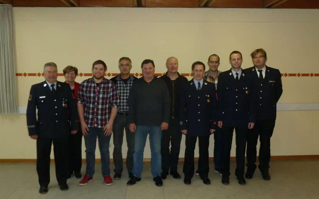 Feuerwehr Geldersheim: Dienst- und Generalversammlung mit Neuwahlen