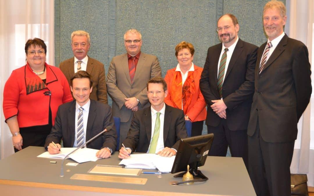 Konversionsvereinbarung mit BImA unterzeichnet