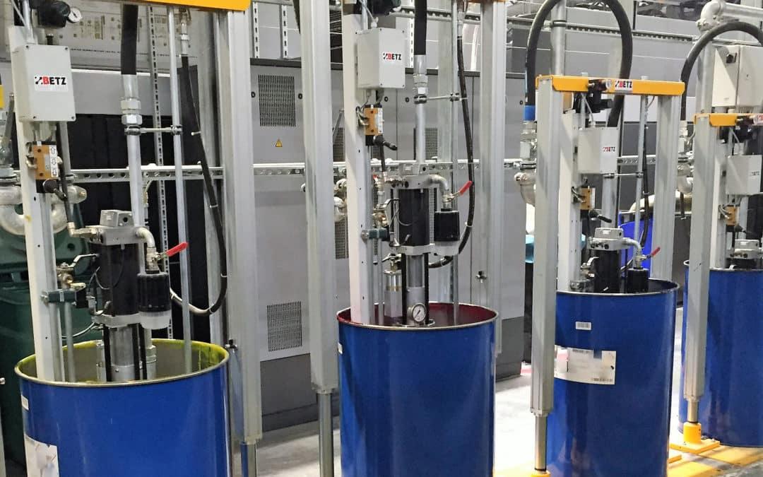 Betz Technologies liefert maßgeschneiderte LED-UV-Farbversorgungsanlagen