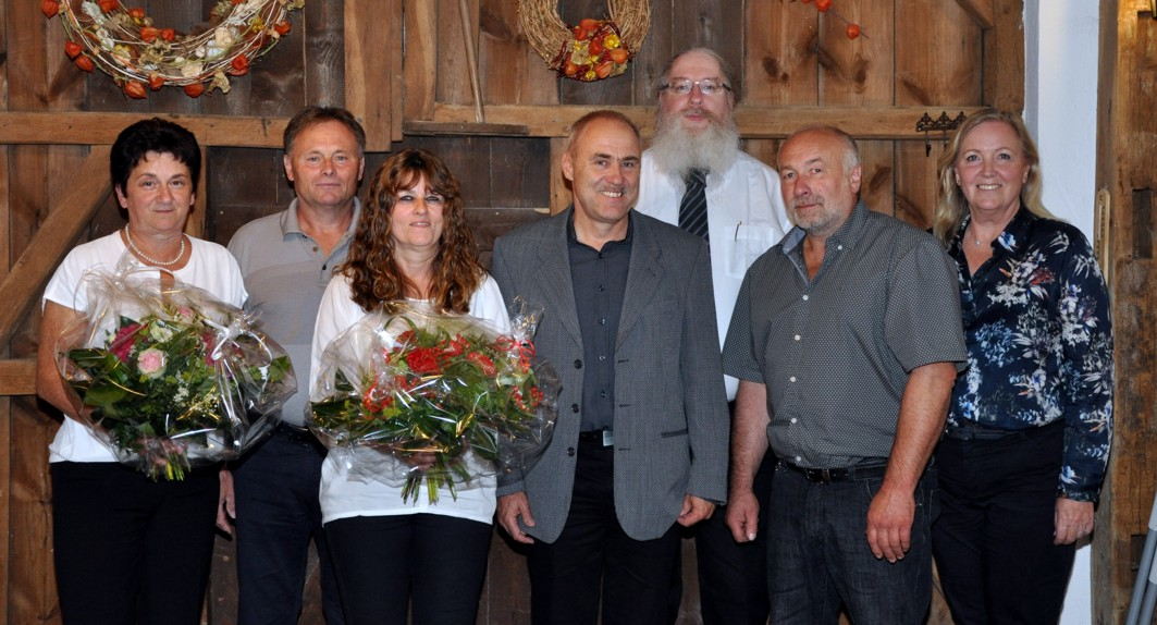 Fünf Jubilare im Autohaus Kehm in Bad Neustadt