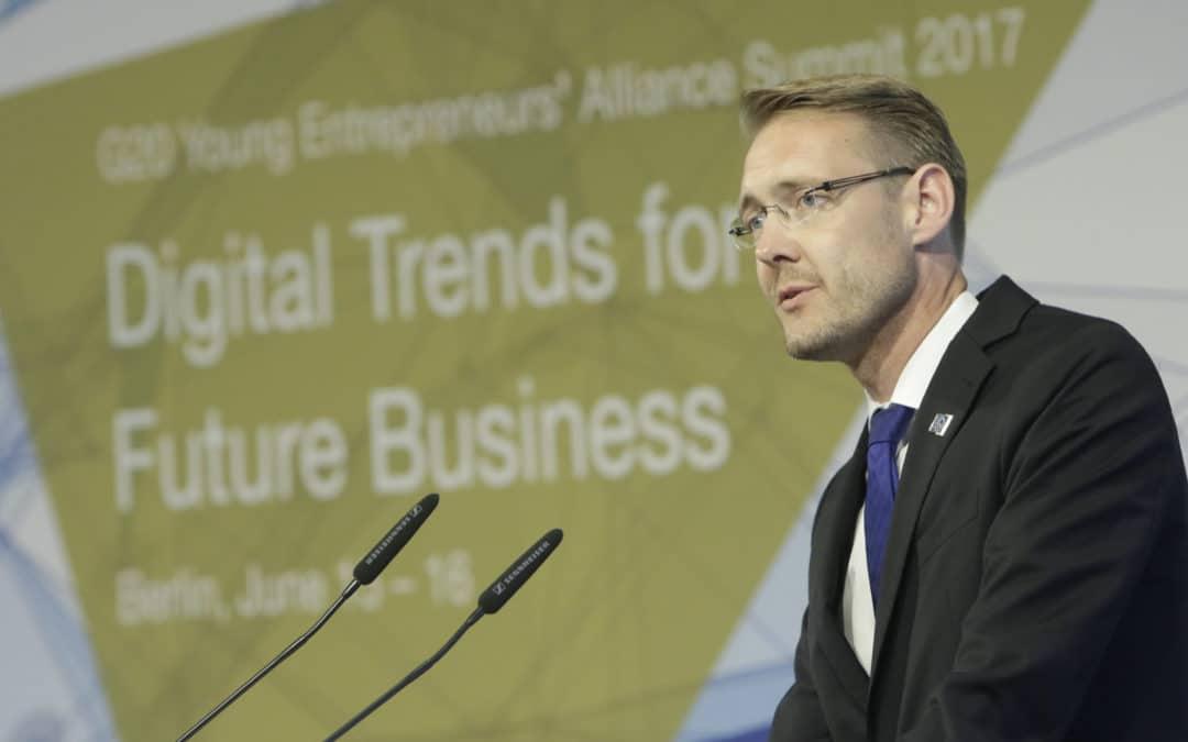 Sprecher für 500000 junge Unternehmer kommt aus Würzburg