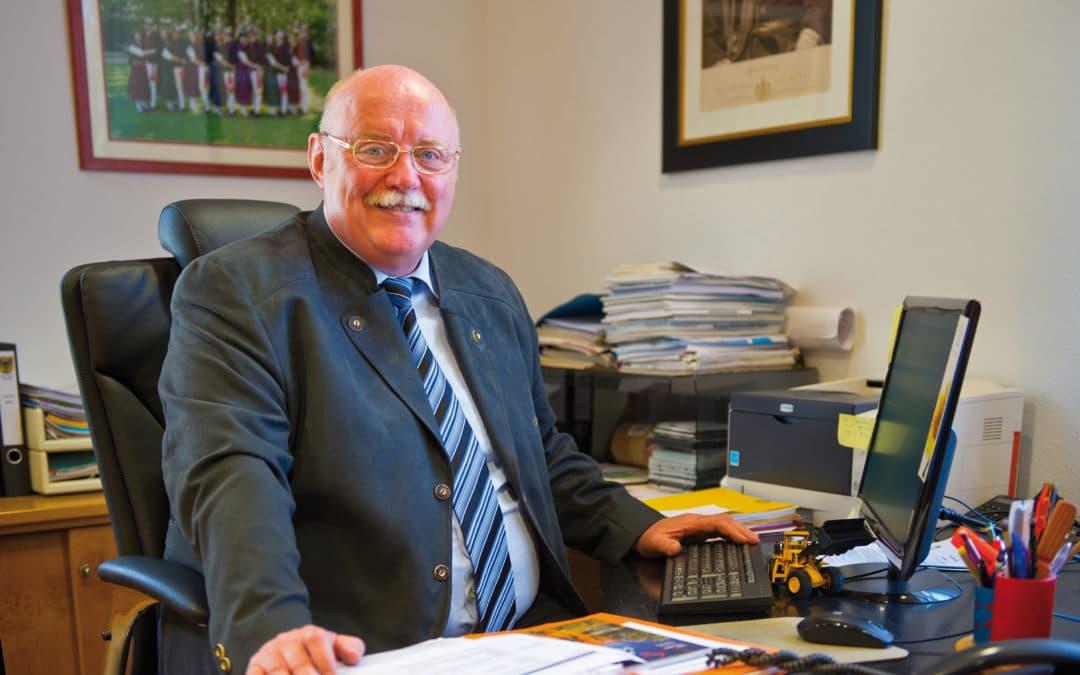 Emil Heinemann gibt sein Amt als Bürgermeister aus gesundheitlichen Gründen auf