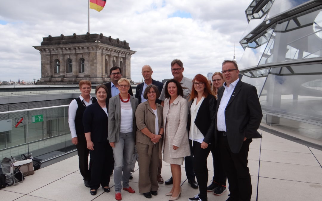 Wirtschaftsjunioren Bad Kissingen auf politischer Informationsreise in Berlin