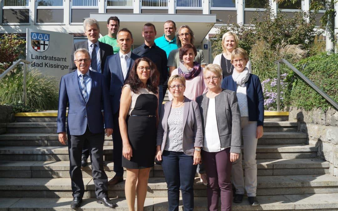 305 Jahr im Amt – Dienstjubiläumsfeier im Landratsamt Bad Kissingen