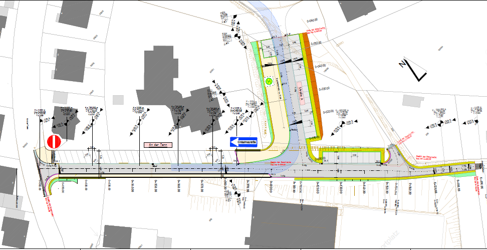 Neue Straßenführung für Schonunger Schulzentrum