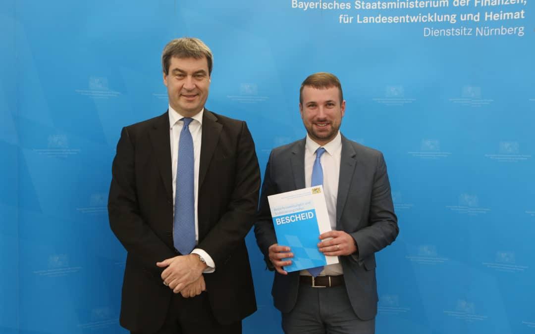 Schonungen erhält 600.000 Euro Förderung