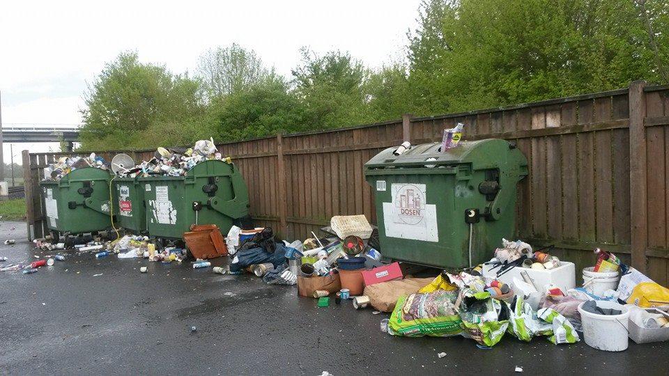 Schonungen greift bei illegalen Müllablagerungen durch