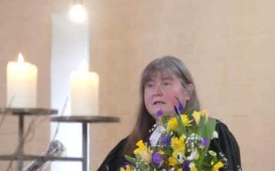 Pfarrerin Eva Loos wurde nach 21 Jahren in der Dreieinigkeitskirche in den Ruhestand verabschiedet