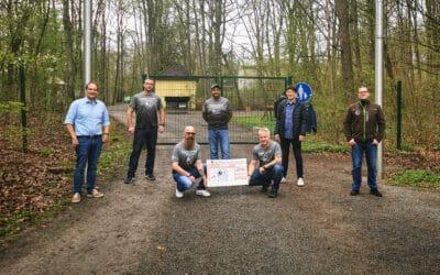 Durchstarten für die Wildparkfreunde – Frankenrunners erlaufen 1.160,72 Euro