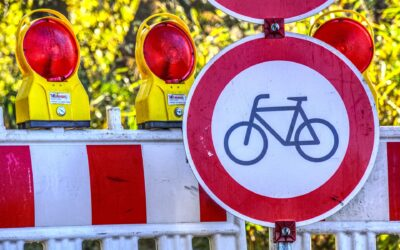 Geänderte Verkehrsführung Heckenweg / Dittelbrunner Straße 3. Mai 2021 bis Mitte Juni 2021