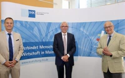 DIHK-Präsident Peter Adrian zu Gast in IHK-Vollversammlung