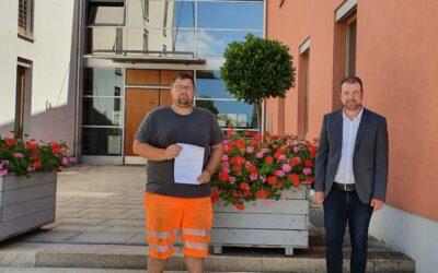 Erfolgreiche Prüfung: Bastian Herbig nun Abwassermeister