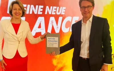 Schweinfurt soll Wasserstoffregion werden