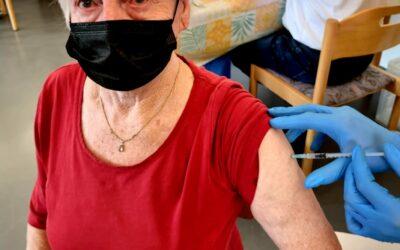 Schutz vor Corona: Auffrischimpfungen im Kreisalten- und Pflegeheim Werneck