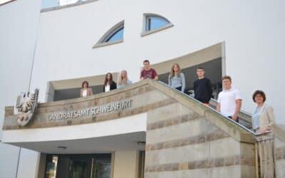 Ausbildungsbeginn im Landratsamt Schweinfurt
