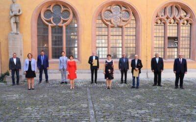 Fünf Persönlichkeiten aus dem Kreis Schweinfurt mit kommunaler Verdienstmedaille geehrt