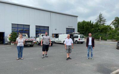 Bauhofleiter Norbert Hackenberg in den Ruhestand verabschiedet