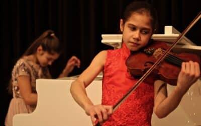Konzert von zwei Nachwuchskünstlerinnen der Spitzenklasse