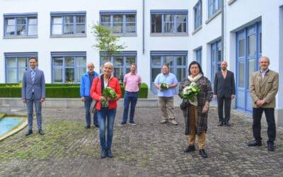 Landrat dankt langjährigen Mitarbeiterinnen und Mitarbeitern im öffentlichen Dienst