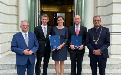 Leopoldina verleiht Carus-Medaillen – Oberbürgermeister Remelé trifft in Halle künftige Carus-Preisträger