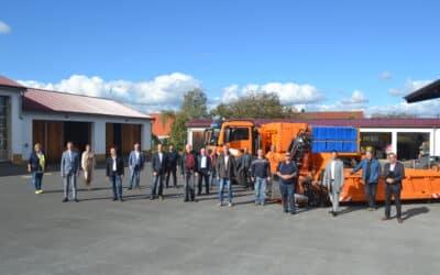 Neuer Lkw mit besonderen Eigenschaften steht dem Landkreis Schweinfurt zur Verfügung