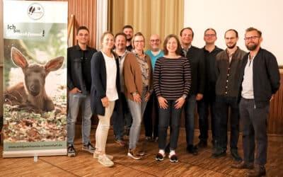 Mitgliederversammlung mit Neuwahlen der Wildparkfreunde Schweinfurt